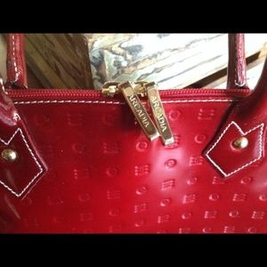 Red Patent Arcadia Purse